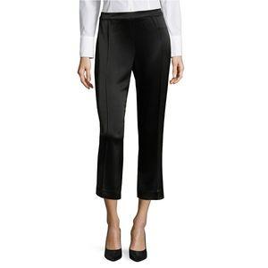 St. John Liquid Satin Pants Black Size 10